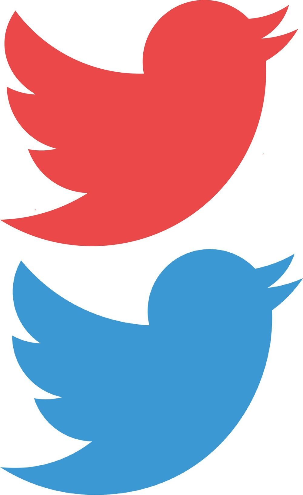 Twiter Logo. (Mine is the red one) ^_^ - image 1 - student project