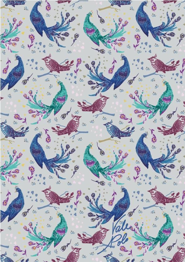 Pretty Peacocks - image 1 - student project