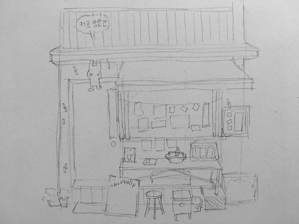 A cafe in Seoul, Korea - image 2 - student project