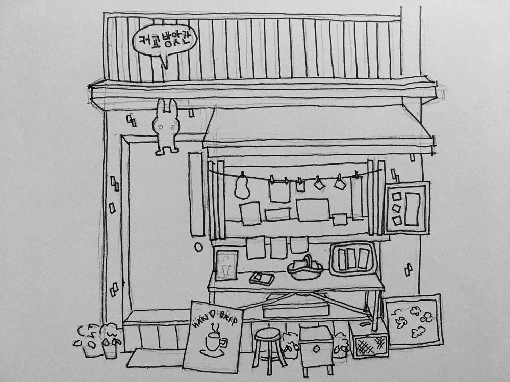 A cafe in Seoul, Korea - image 3 - student project