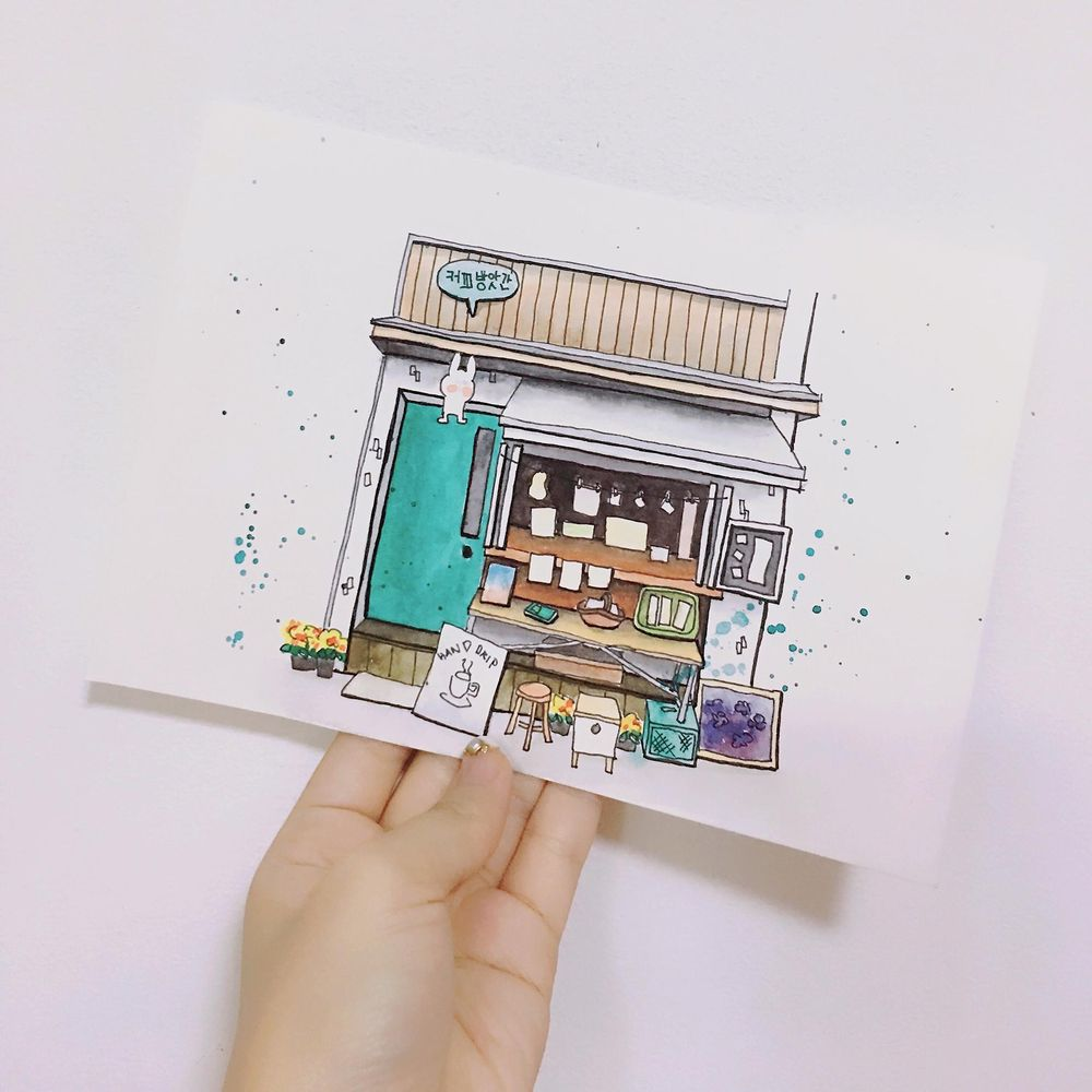 A cafe in Seoul, Korea - image 5 - student project