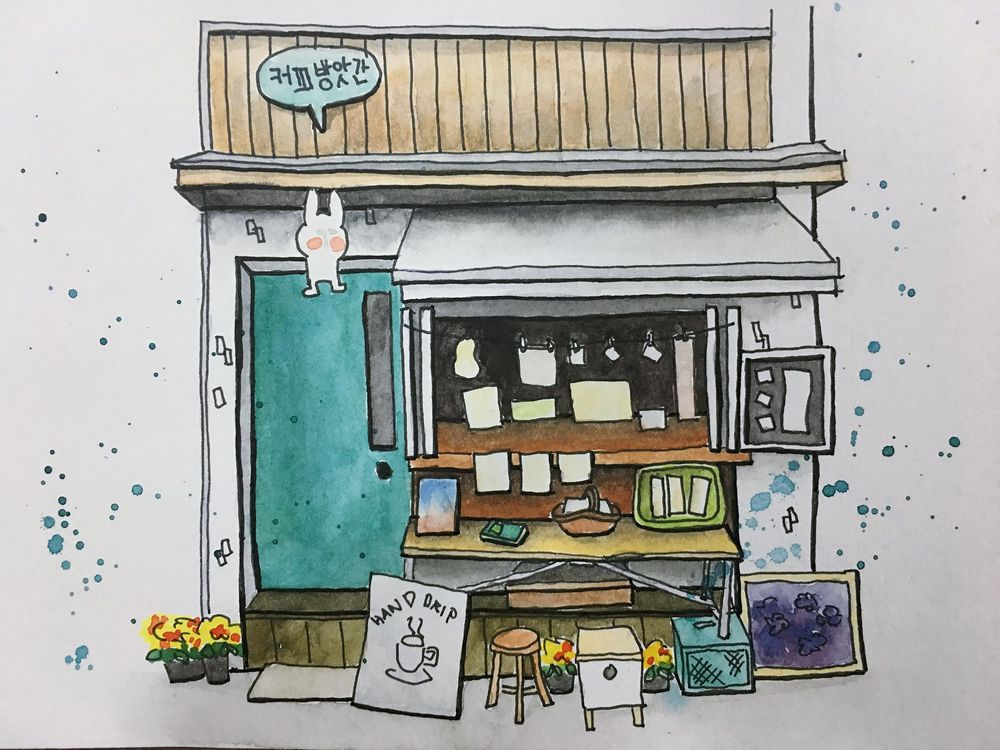 A cafe in Seoul, Korea - image 4 - student project