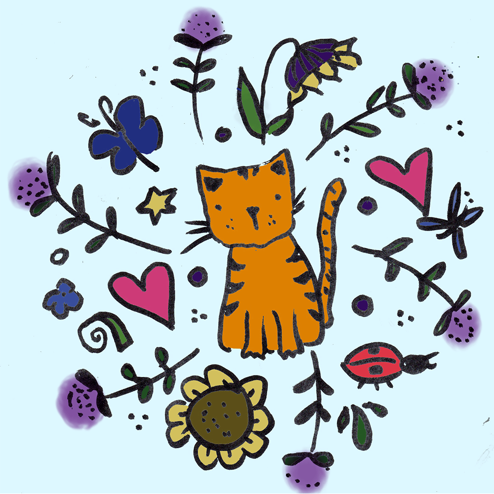 Kitty Motif - image 2 - student project