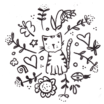 Kitty Motif - image 1 - student project