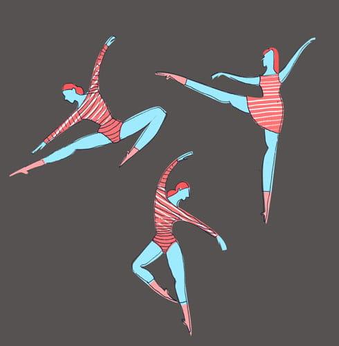 ballet dancers - image 3 - student project