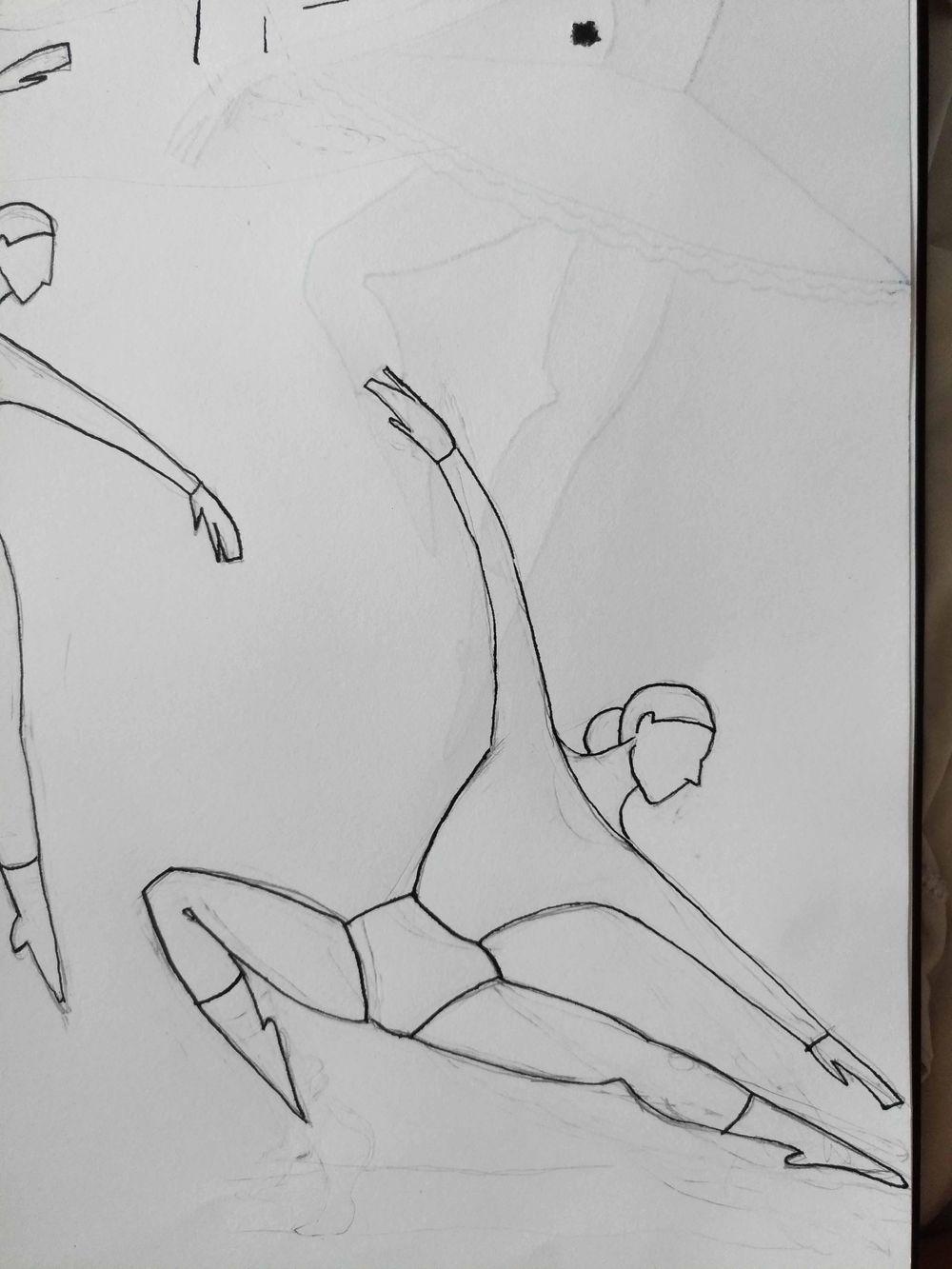 ballet dancers - image 1 - student project