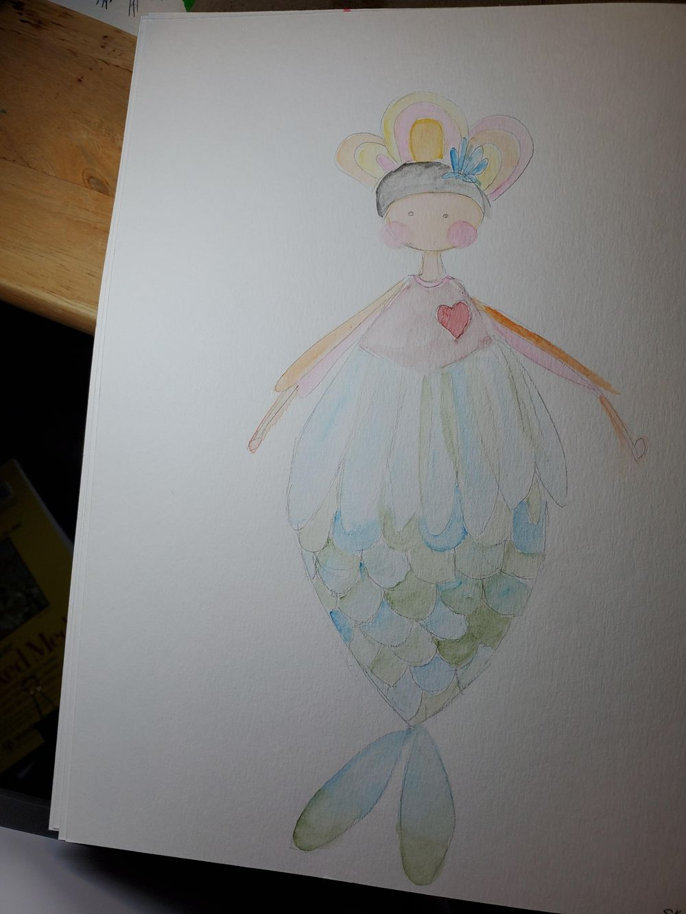Cute little mermaid! - image 1 - student project