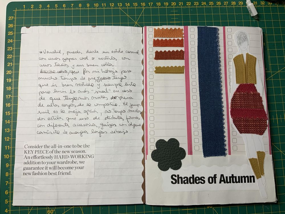 First up-cycled brochure - image 2 - student project