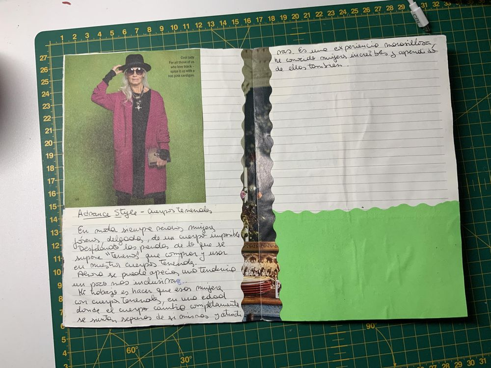 First up-cycled brochure - image 1 - student project