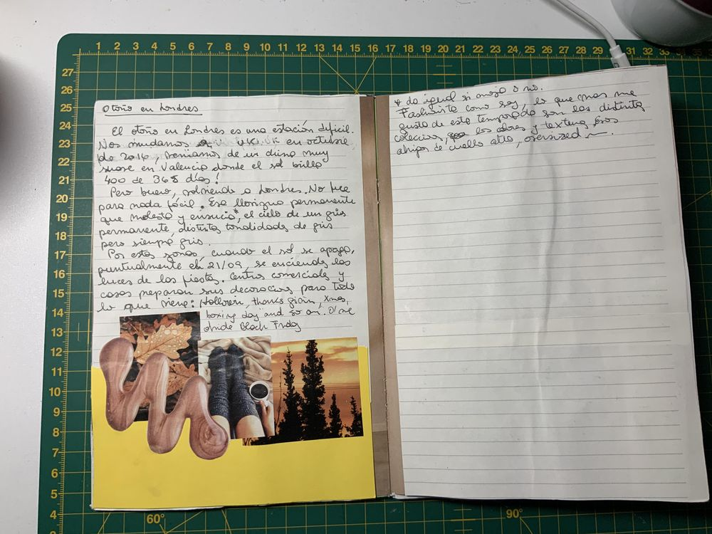 First up-cycled brochure - image 3 - student project