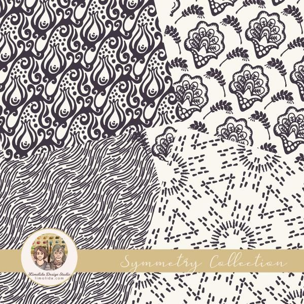 Symmetry Pattern Collection by Limolida Studio - image 1 - student project