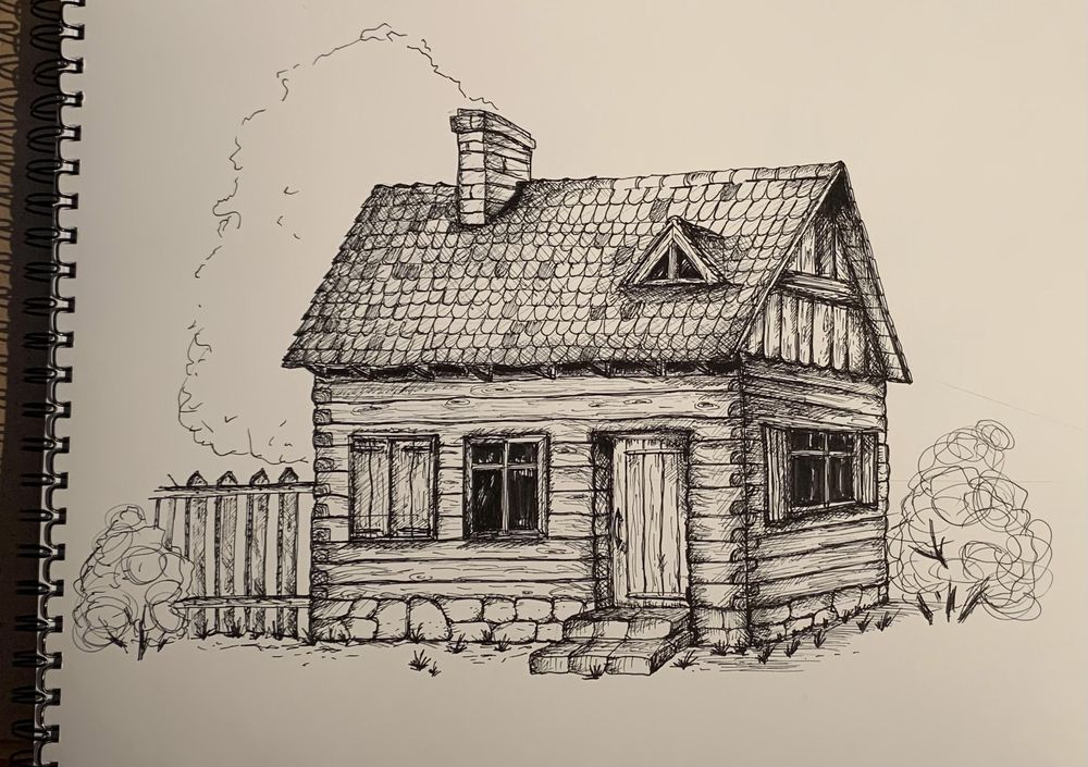 a cottage - image 1 - student project