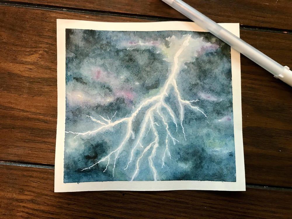 Lightning - image 1 - student project