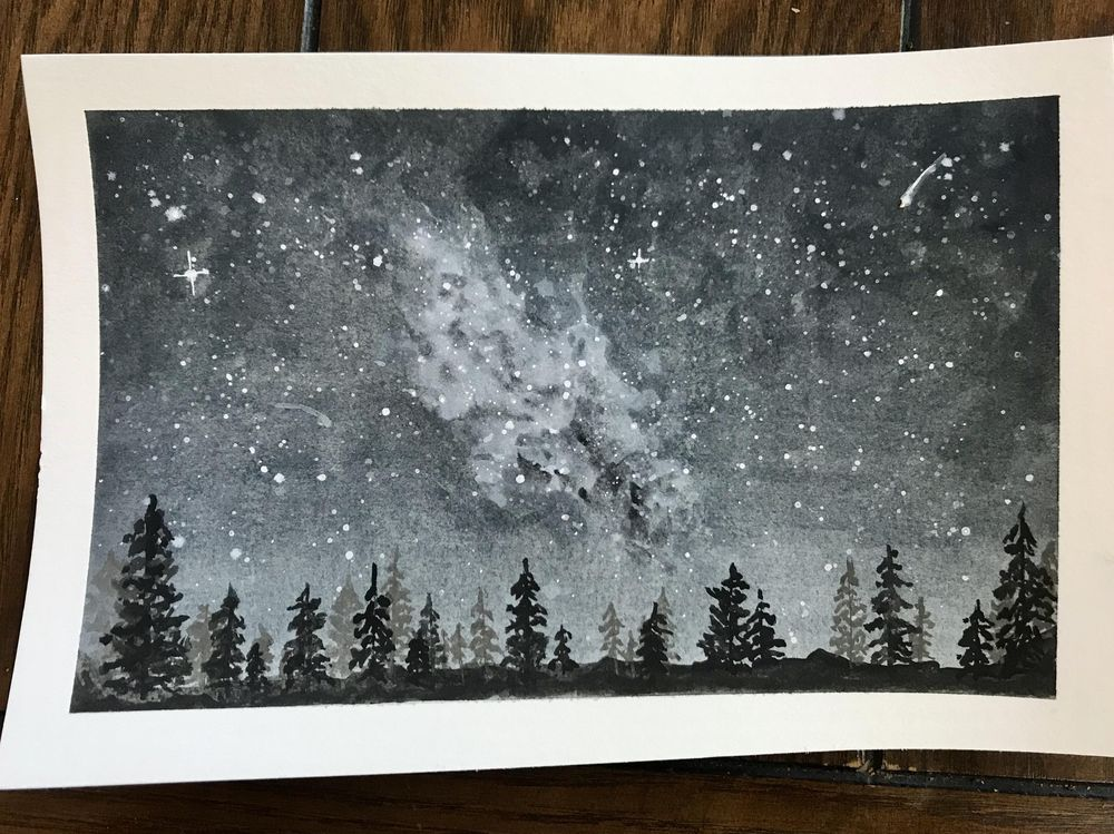 Milky Way - image 1 - student project