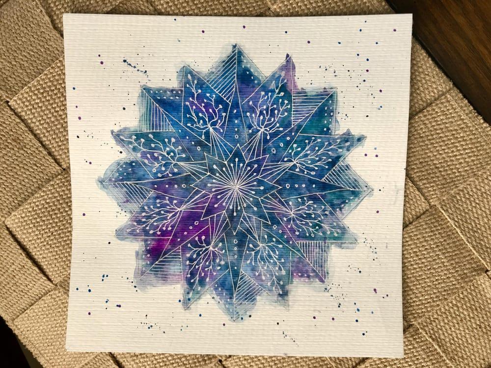 Galaxy Mandala - image 1 - student project