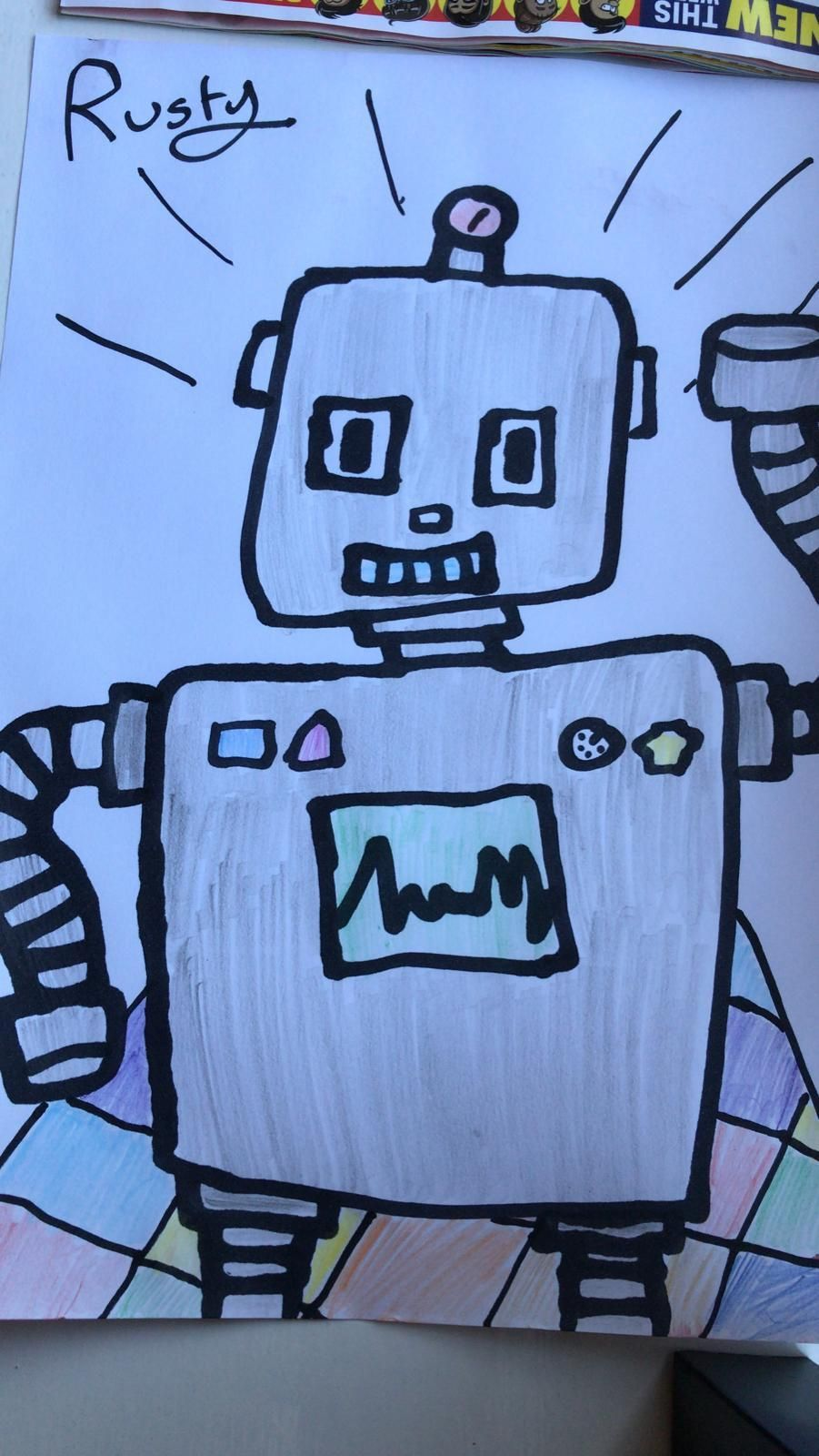 Disco robots - image 4 - student project