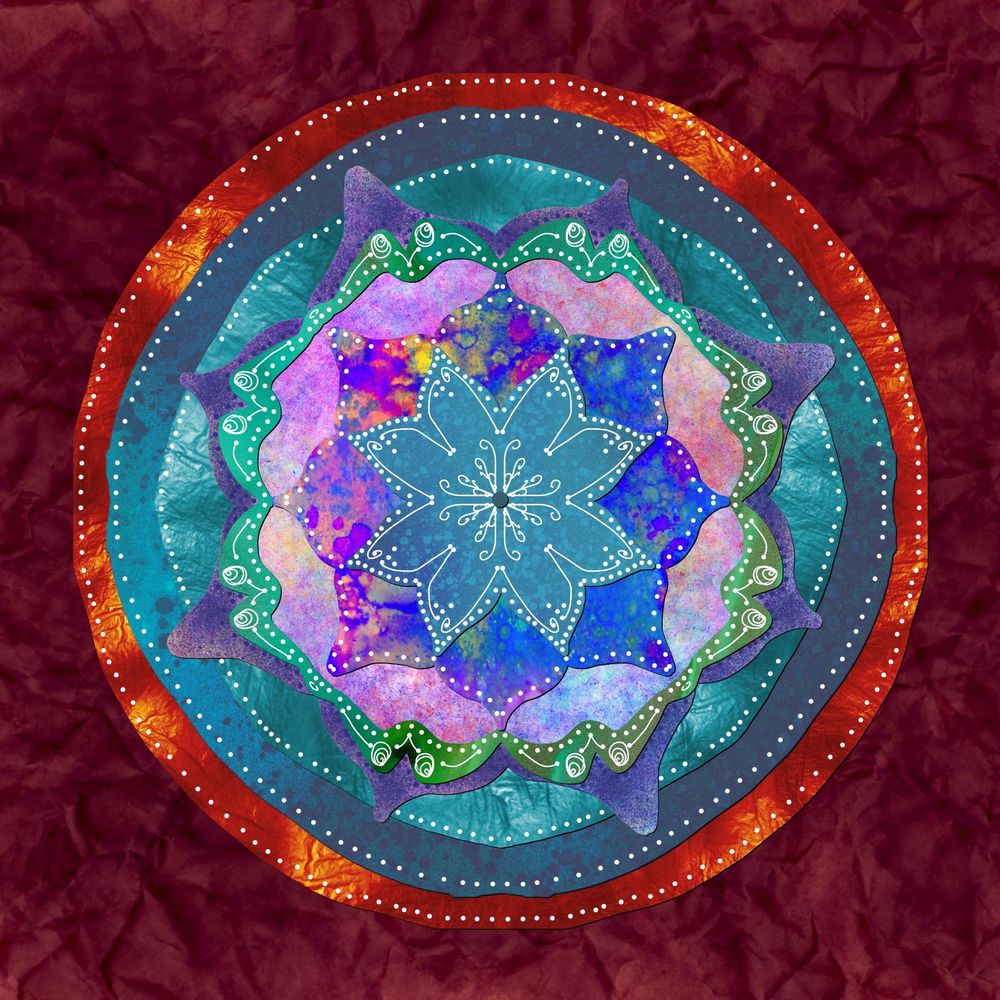 Mandala from plant inspiration - image 1 - student project