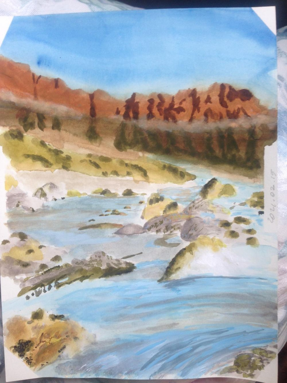 My first own painting - image 1 - student project