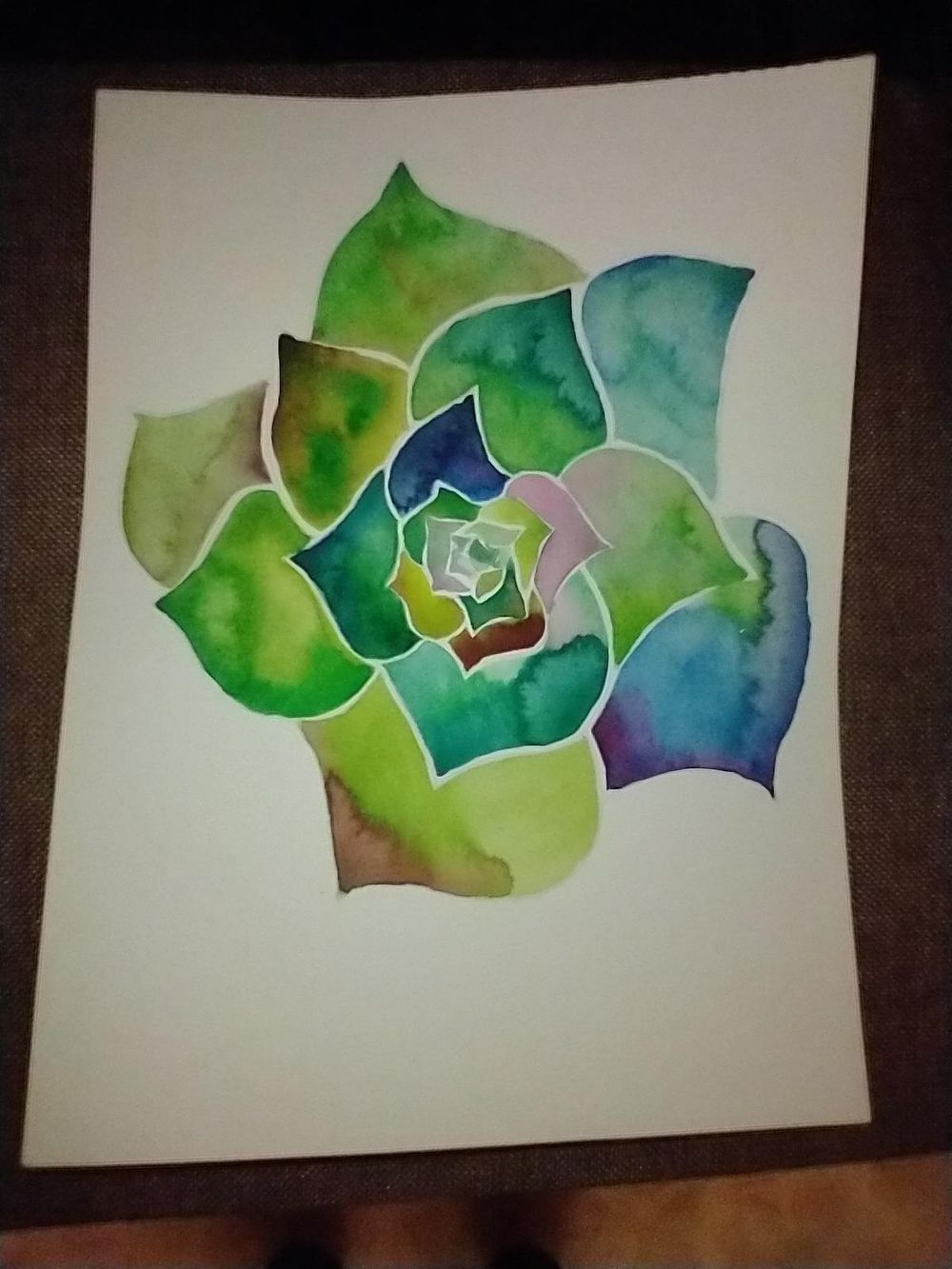 Watercolor florals - image 1 - student project