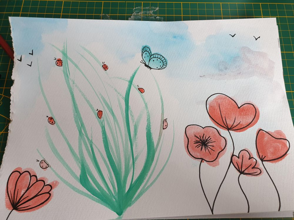 Guess I was in a floral mood - image 1 - student project