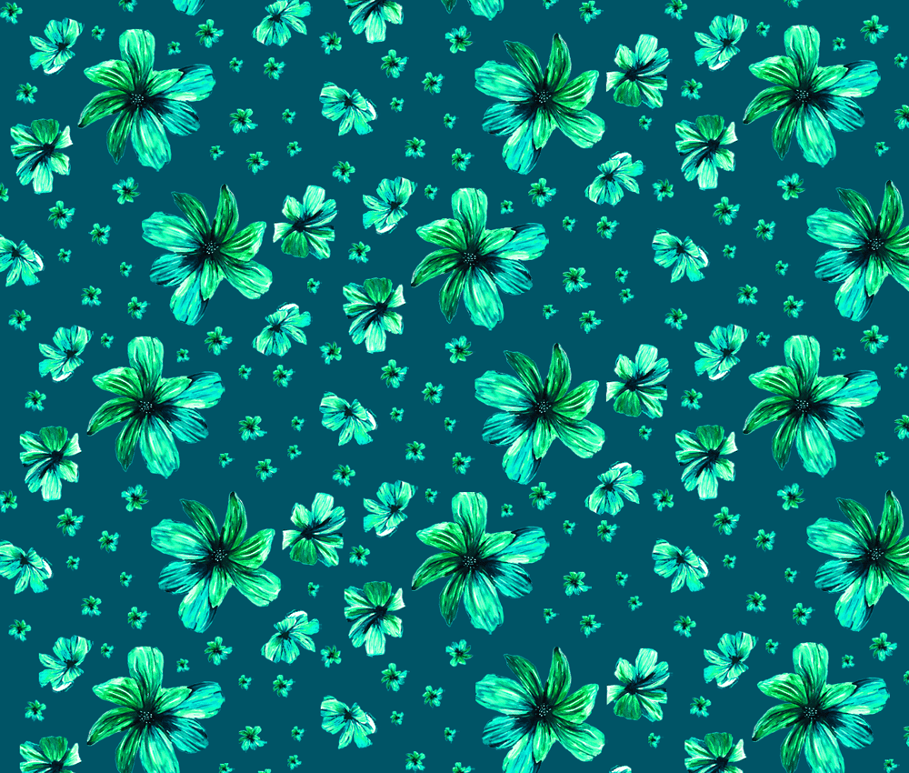 Tropical Floral - image 3 - student project