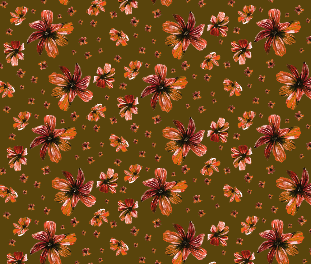 Tropical Floral - image 2 - student project