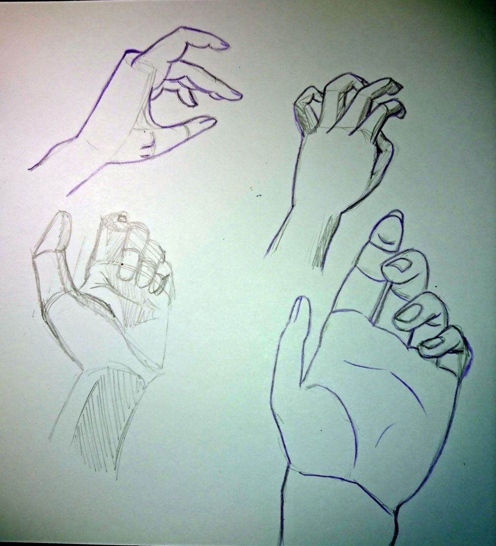 Some hands - image 1 - student project