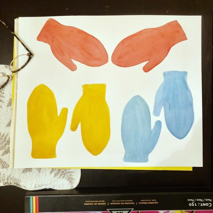 Mitten Trio - image 1 - student project