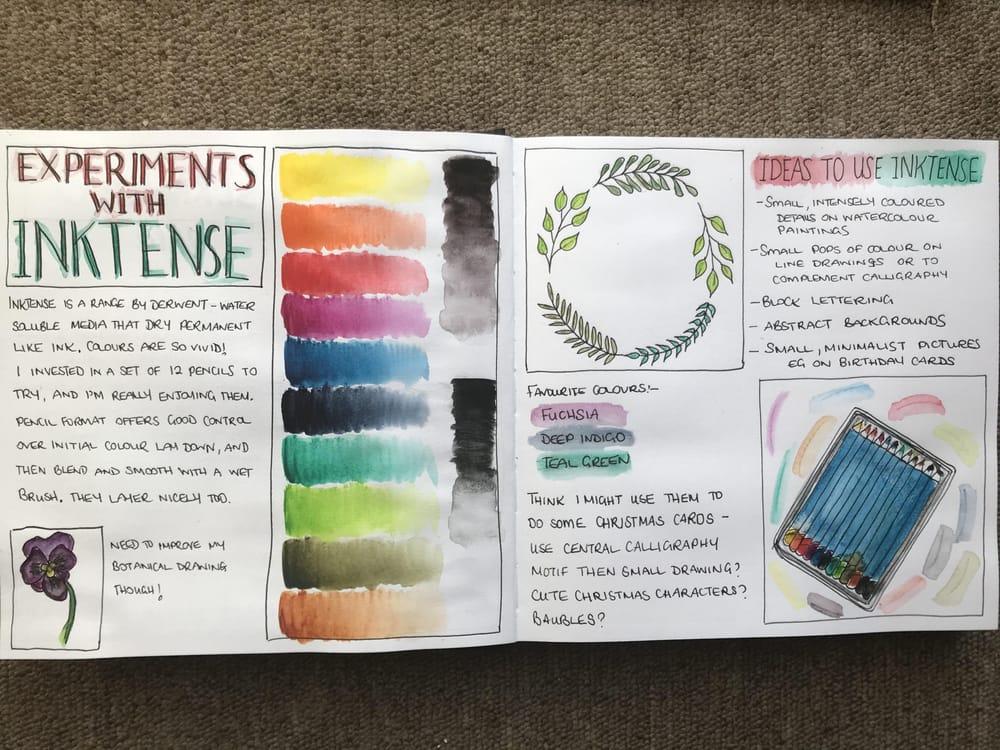 Leanne's Sketchbook - image 1 - student project