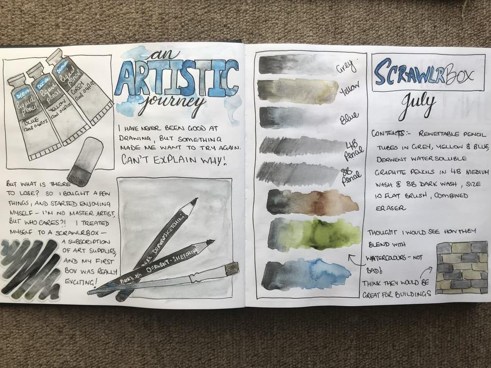 Leanne's Sketchbook - image 2 - student project