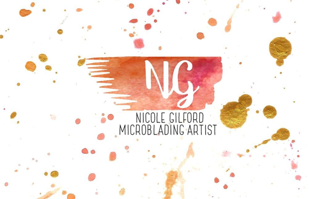 Nicole Gilford; Micro-blading brow artist - image 8 - student project