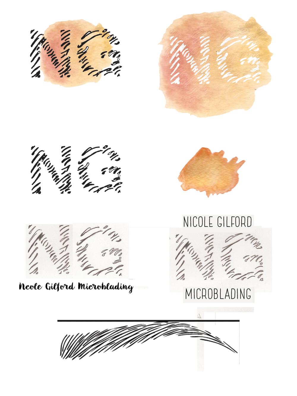 Nicole Gilford; Micro-blading brow artist - image 2 - student project