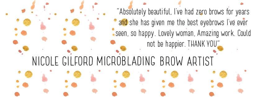 Nicole Gilford; Micro-blading brow artist - image 10 - student project