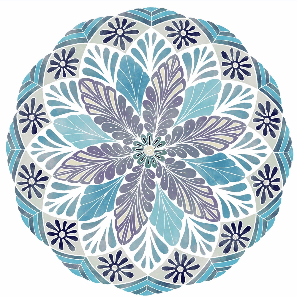 My finished Mandala  - image 1 - student project
