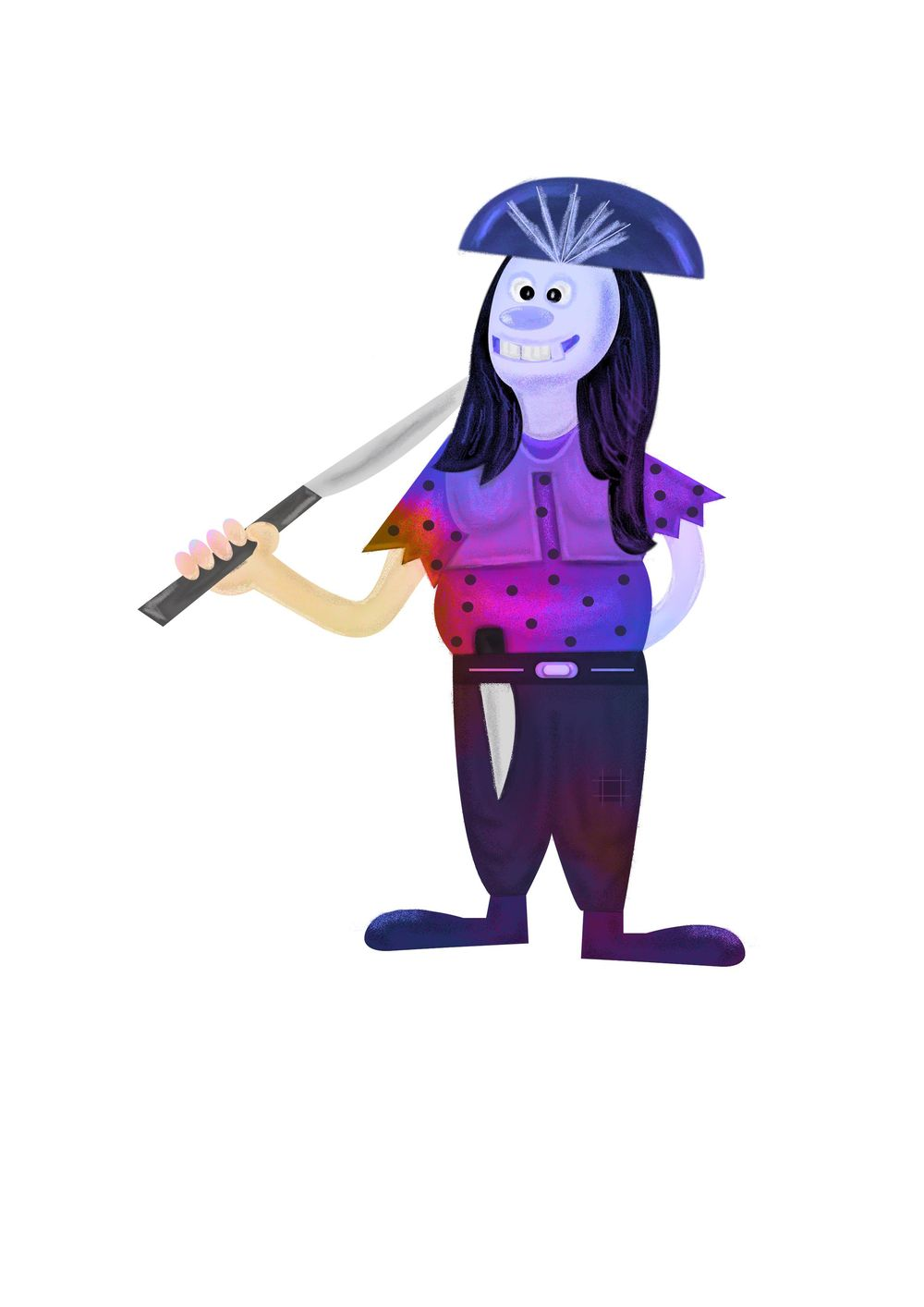 Female Pirate - image 3 - student project