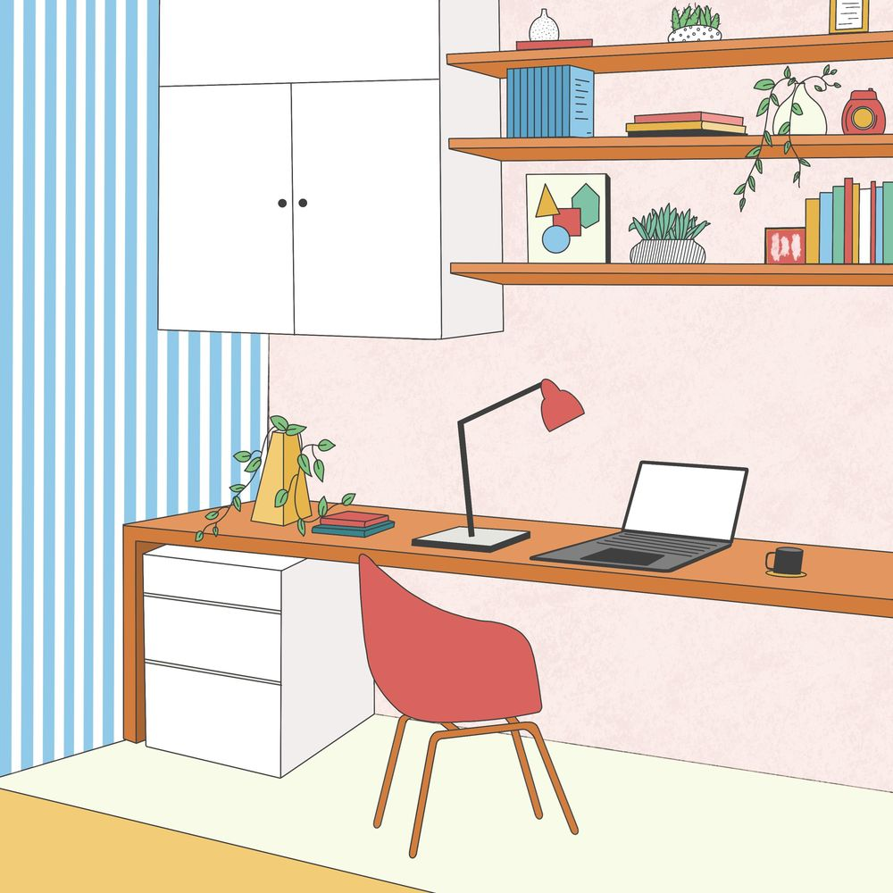 Study Room - image 1 - student project