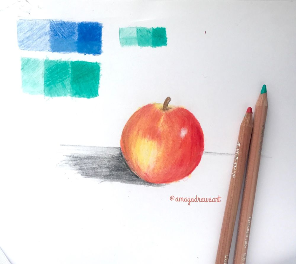 First Try at using Coloured Pencils - image 4 - student project