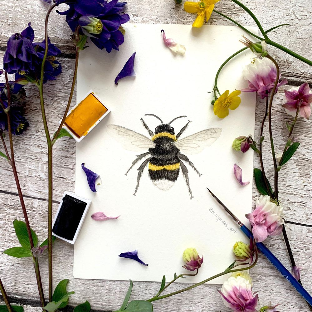 Busy Bumblebee - image 3 - student project