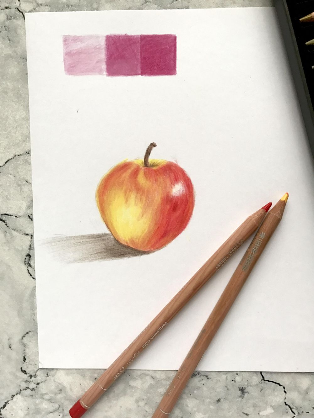 First Try at using Coloured Pencils - image 1 - student project