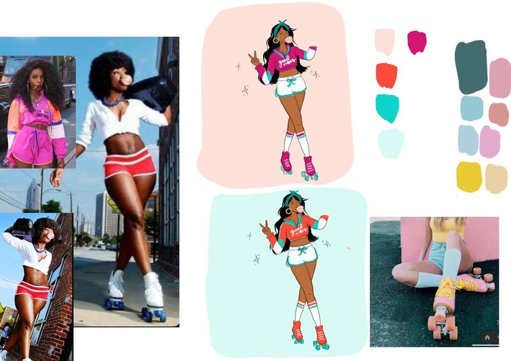 Roller Girl - image 7 - student project