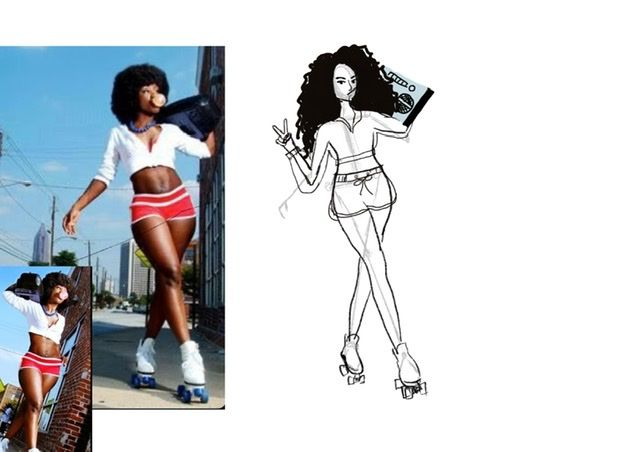 Roller Girl - image 6 - student project