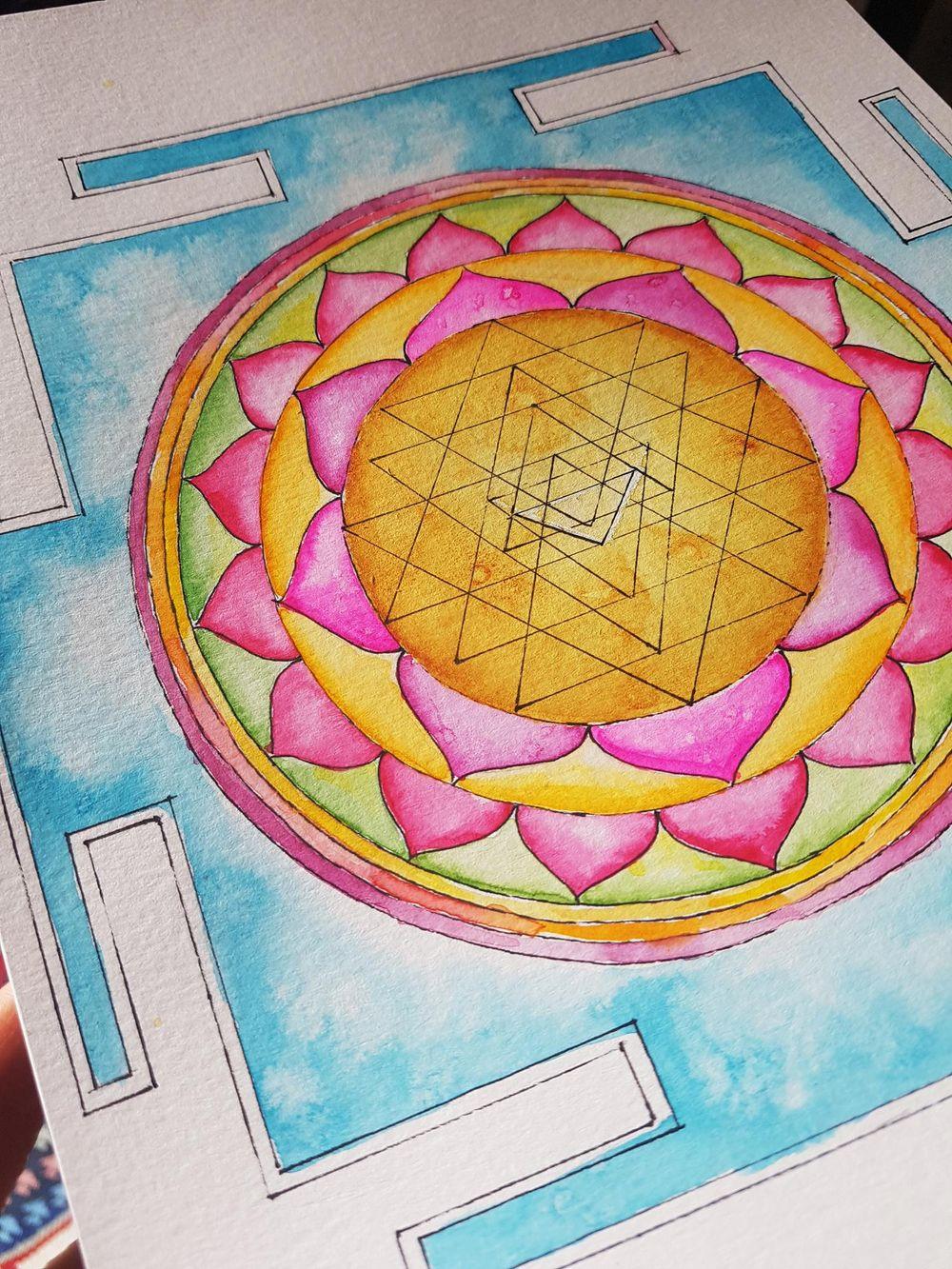 Sri Yantra - image 1 - student project