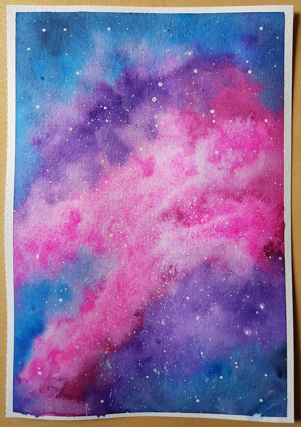 Watercolour Galaxy - image 1 - student project