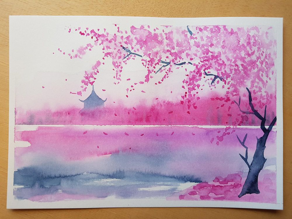Dreamy Spring Landscape - image 1 - student project
