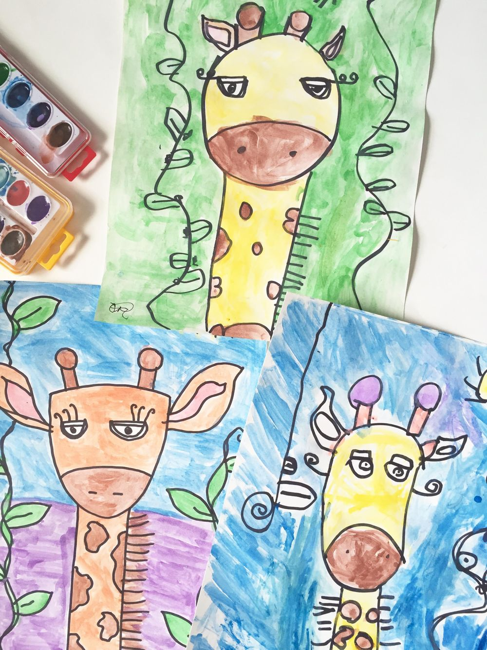 3 Silly Giraffes - image 1 - student project
