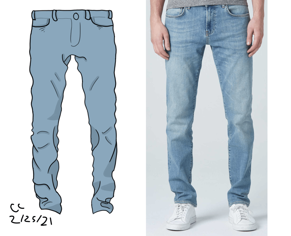 Jeans practice - image 1 - student project