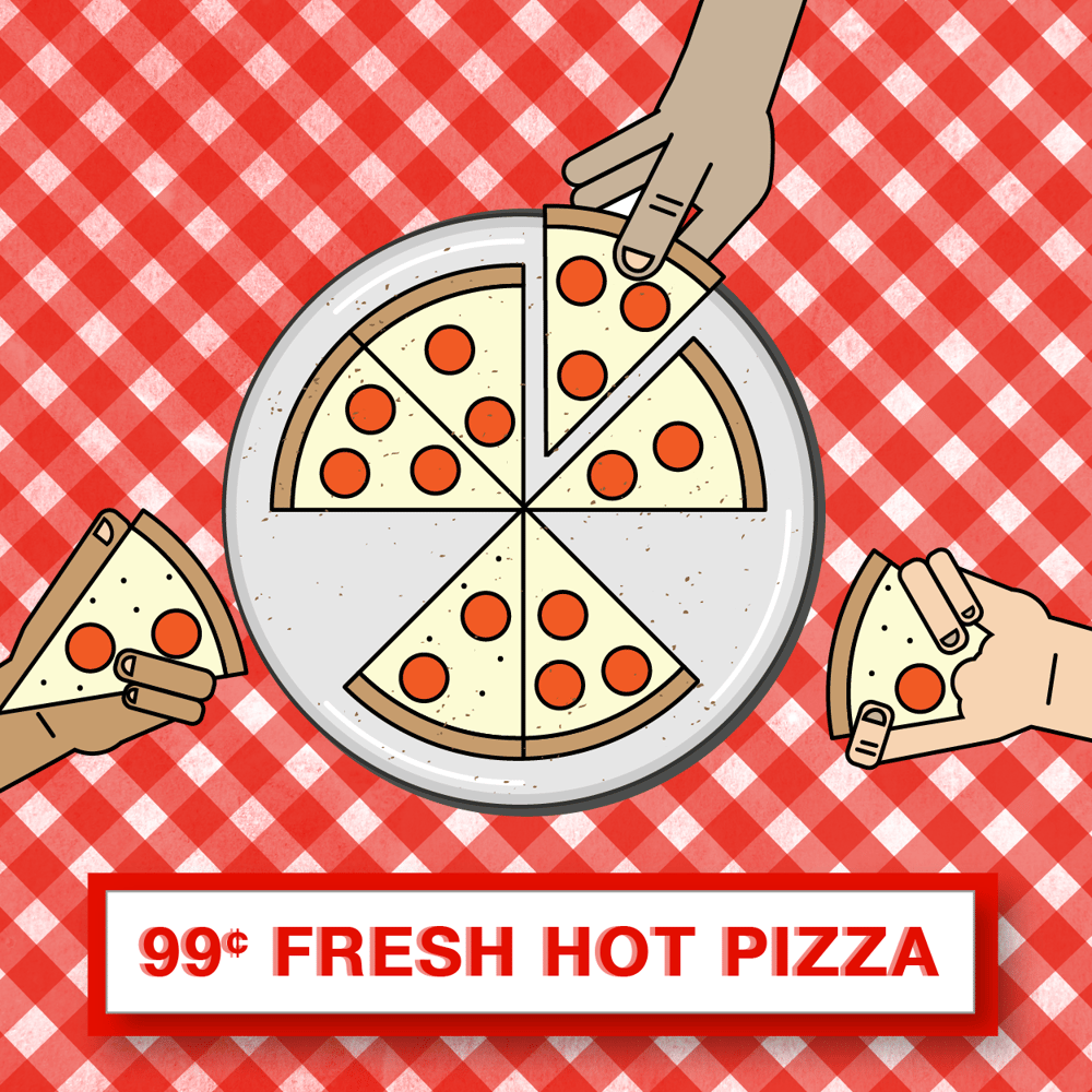 99 Cent Pizza...  - image 2 - student project