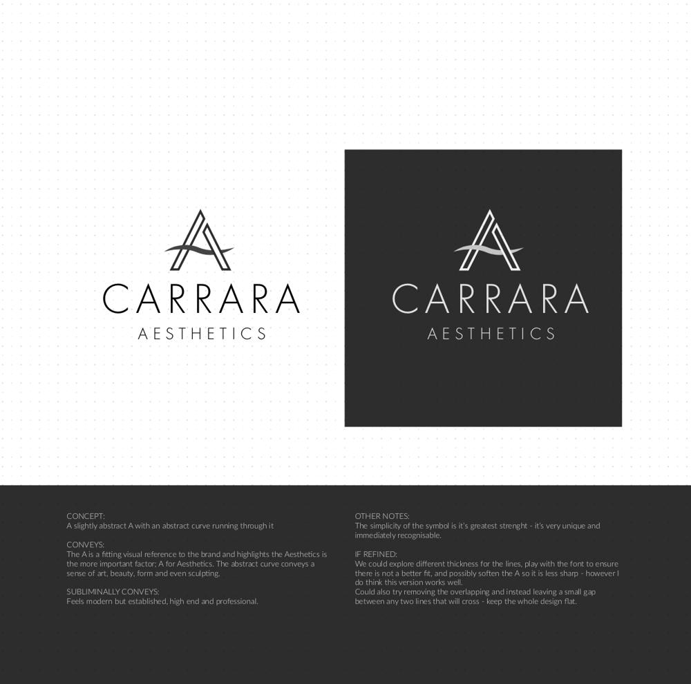 Brand Identity Design: Carrara Aesthetics - image 12 - student project
