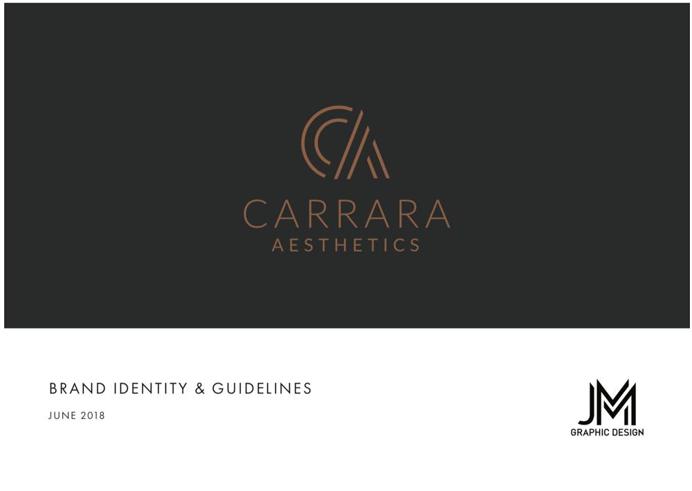 Brand Identity Design: Carrara Aesthetics - image 22 - student project
