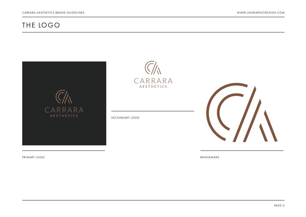 Brand Identity Design: Carrara Aesthetics - image 23 - student project